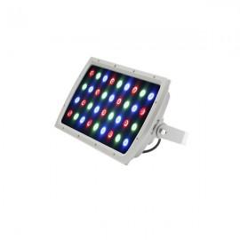 60W LED RGB 색변환 투광기 DC